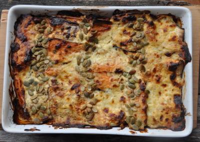 Turkey & Vegetable Lasagne (Pasta Free!)