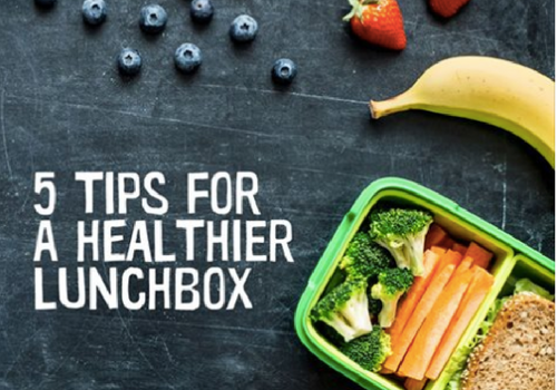 5 Tips For A Healthier Lunchbox