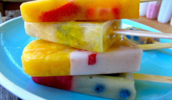 Tooty Fruity Iceblocks