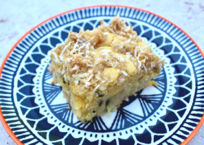 Pineapple & Coconut Slice