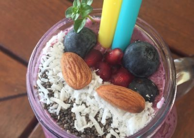 Berry, Banana & Chia Smoothie