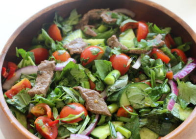 Fresh Thai Beef Salad