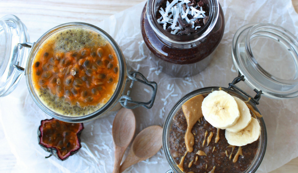 Chia Pudding Three Ways