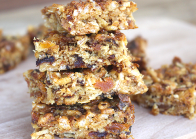Barley+ Peanut Butter Power Bars