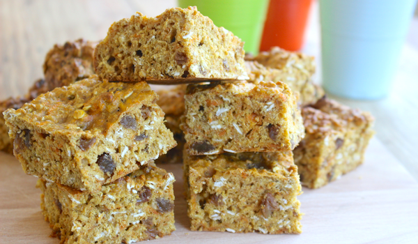 Sweet Potato, Date & Oat Slice