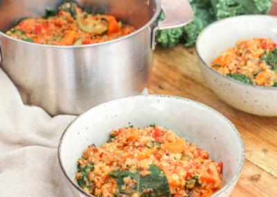 Lentil, Kale & Quinoa Soup