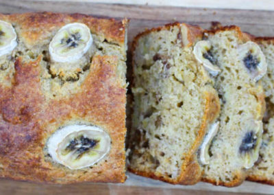 Healthy Walnut & Banana Bread