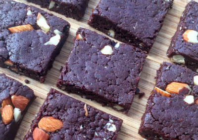 Raw Chocolate & Walnut Brownies