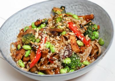 Vegetarian Soba Noodle Stir Fry