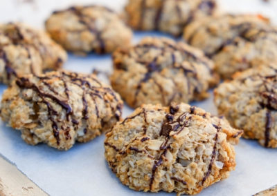 Coconut Muesli Cookies