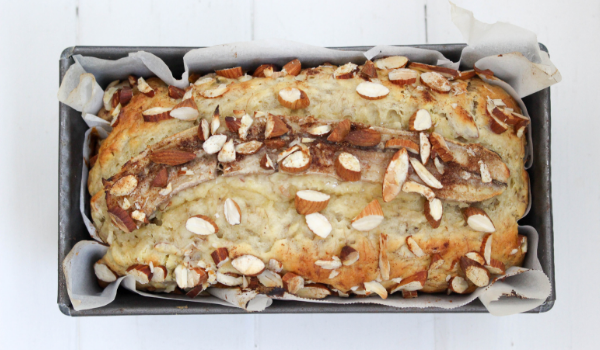 Banana & Almond Loaf