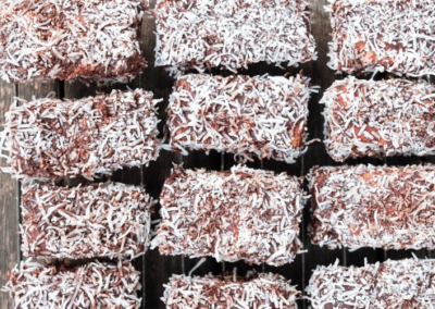 Dark Choc Lamingtons
