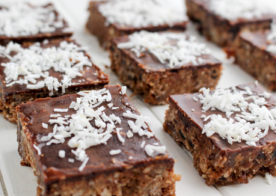 Chocolate & Date Weet-Bix Slice