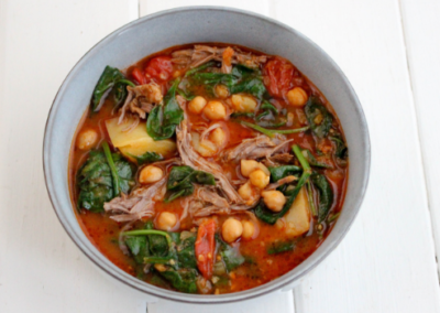 Indian Spiced Lamb & Chickpea Curry