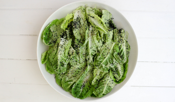 Crunchy Cos Lettuce Salad