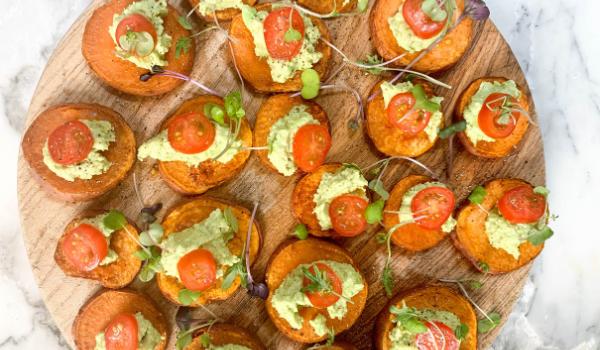 Sweet Potato & Avocado Bites