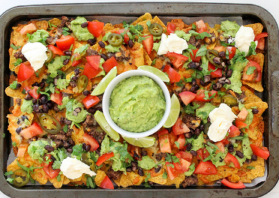 Vegetarian Black Bean Nachos